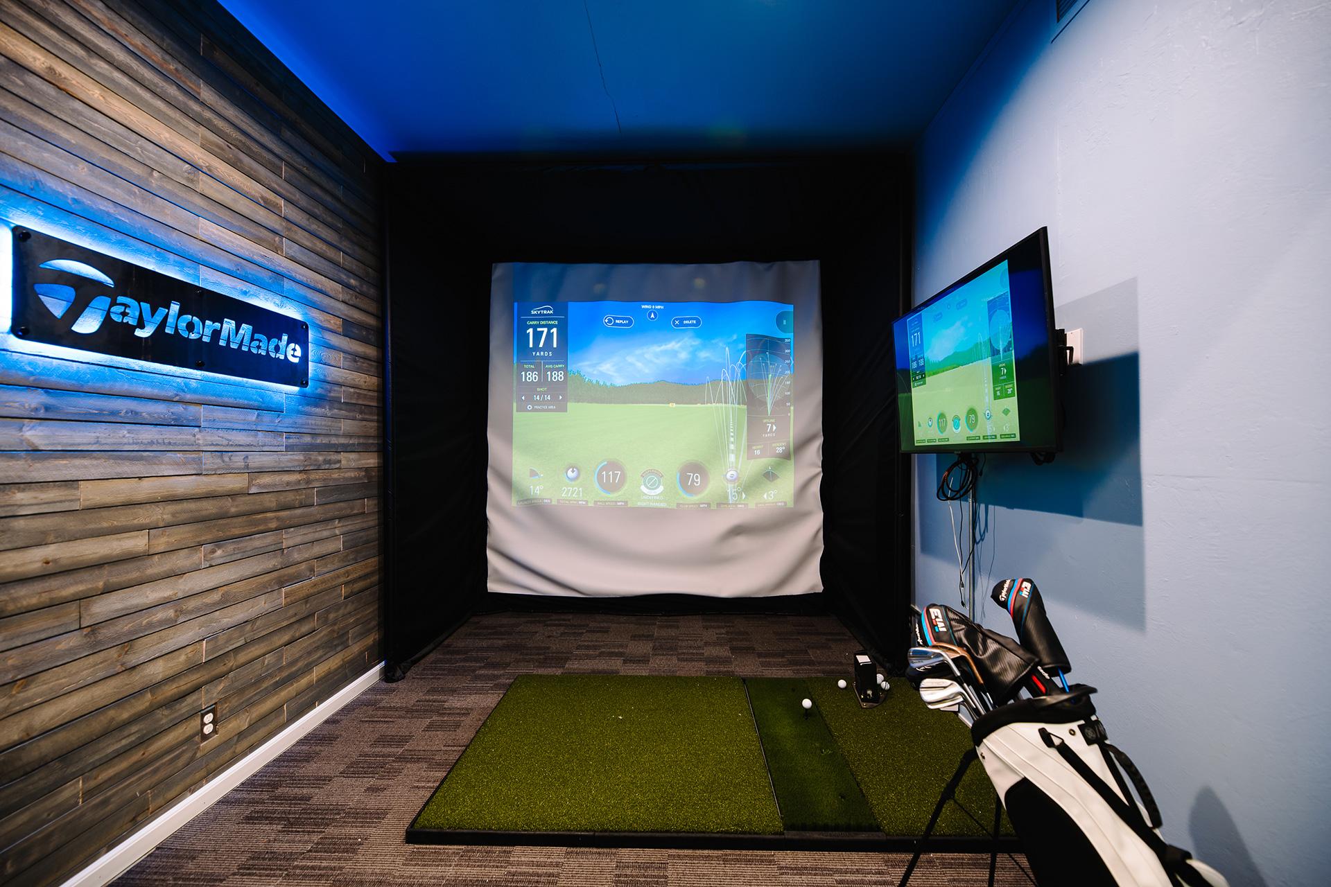 East Bay Golf Lab swing bay